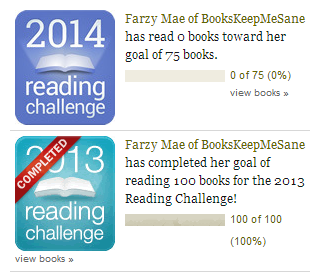 2013 and 2014 reading challenges