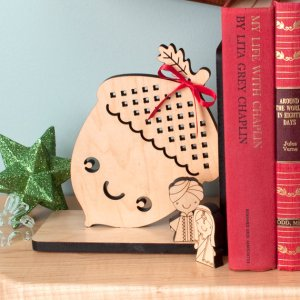 acorn bookend books keep me  sane