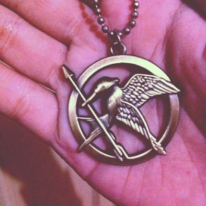 mockingjay pin books keep me sane