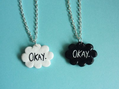 the fault in our stars necklace books keep me sane