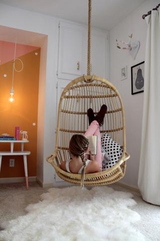 bedroom swing