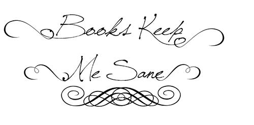 books keep me sane typography