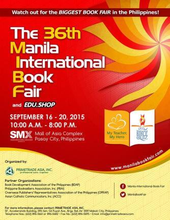 manila intrnational book fair 2015
